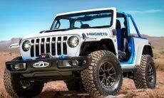 Jeep revela o Magneto, um Wrangler 100% elétrico
