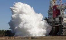 Nasa completa teste de foguete que vai levar humanidade novamente para a Lua