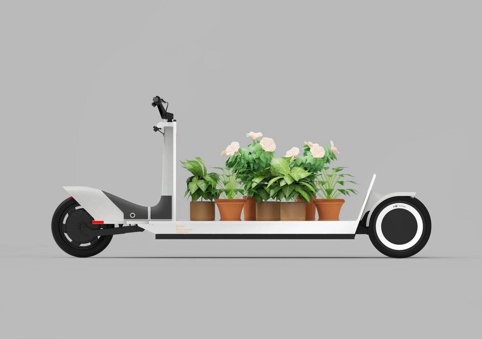 Polestar mostra o Re:Move, um triciclo elétrico para cargas