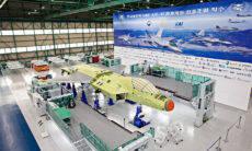 Protótipo do caça sul-coreano KF-X entra em fase final de montagem
