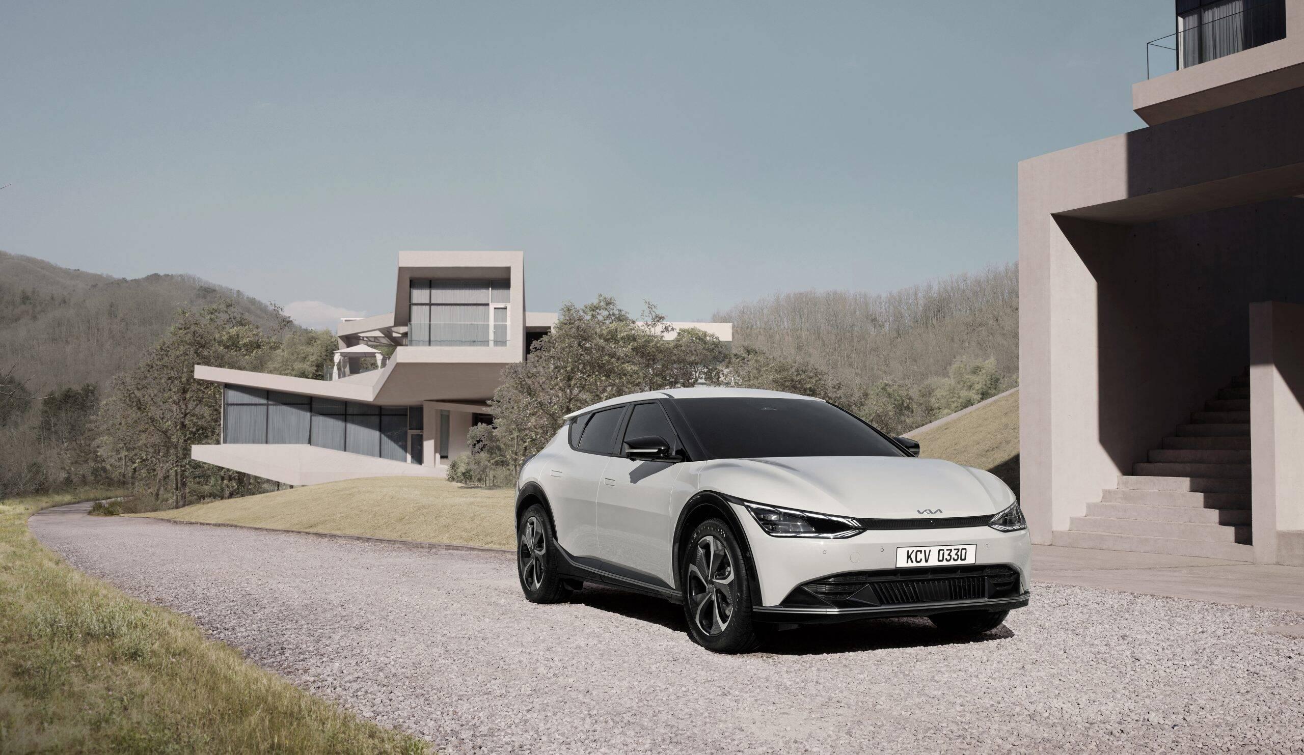 Kia revela o EV6, o primeiro carro elétrico da marca