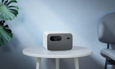 """Xiaomi lança projetor que cria tela de até 120"""""""