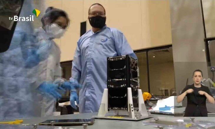 Após atraso inicial, nanossatélite brasileiro é lançado com sucesso. Foto: reprodução Youtube