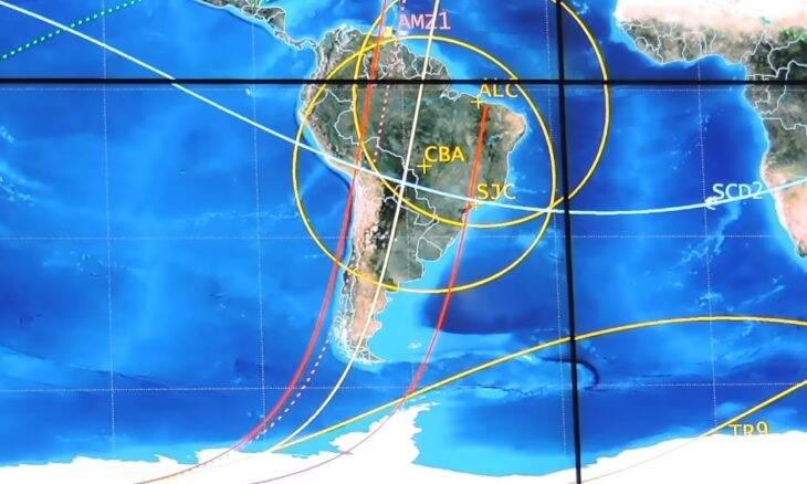 Inpe revela primeiras imagens do satélite Amazonia 1