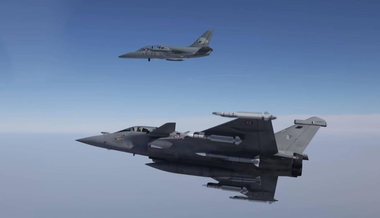 Dassault Rafale F3-R ganha status operacional na França