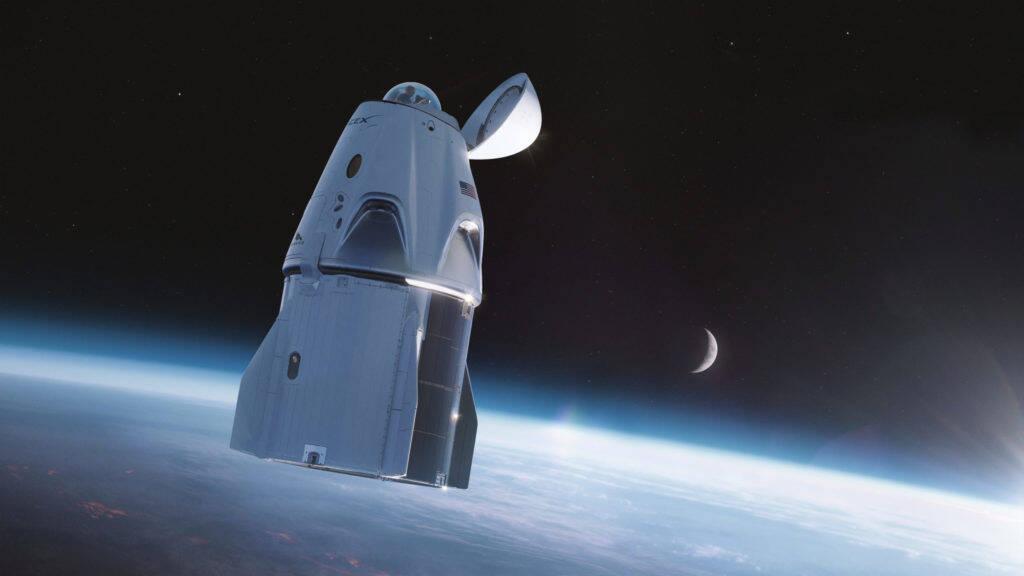 Cápsula Dragon, da SpaceX, terá domo de vidro para observação do espaço