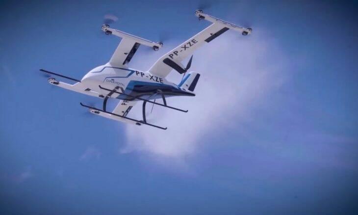 Embraer divulga imagens da aeronave eVTOL da empresa