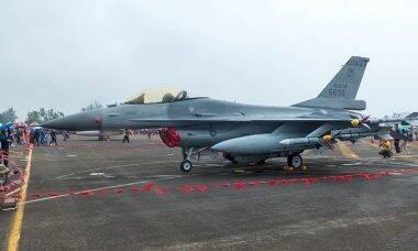 Taiwan completa primeira fase da atualização dos seus caças F-16