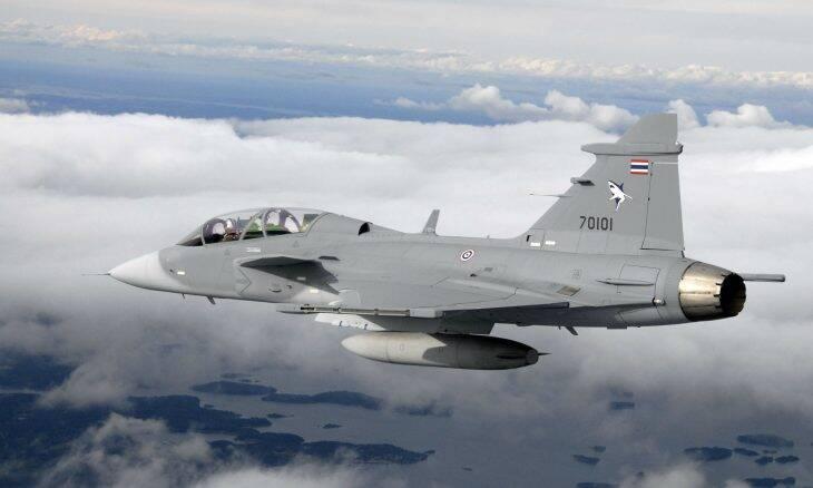 Tailândia vai modernizar os seus caças Saab Gripen