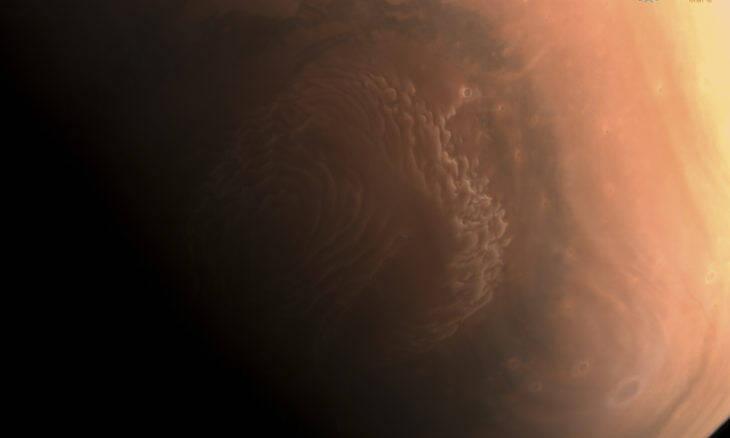 Sonda chinesa Tianwen 1 faz imagens de Marte em alta resolução