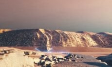 Escritório de arquitetura cria projeto de cidade para Marte
