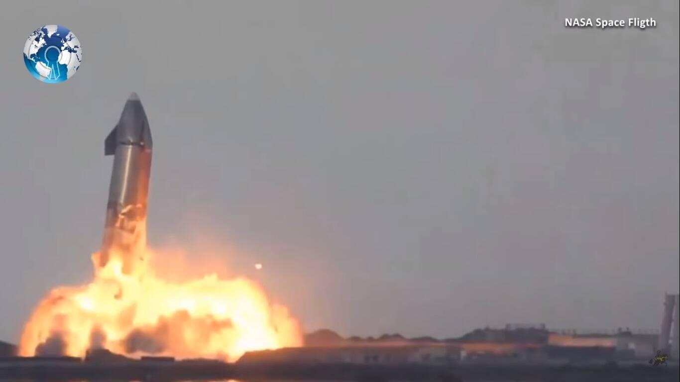 Vídeo: Outro foguete da SpaceX explode após o pouso