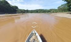 Plataforma digital permite navegar pelo rio Doce