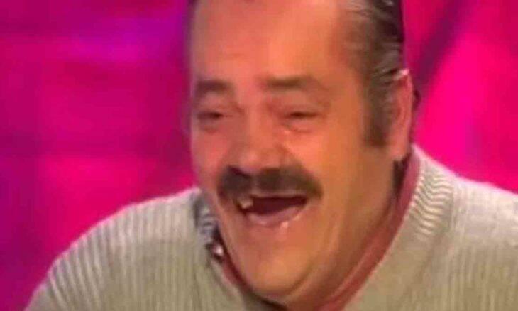 Morre El Risitas, comediante que ficou famosos como figurinha de memes. Foto: Reprodução Youtube