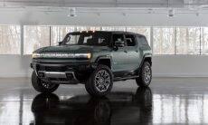 Hummer EV SUV estreia em 2023 com motor elétrico de 842 cv