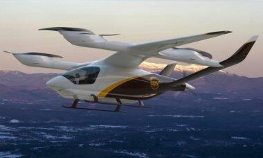UPS estuda compra de 150 aeronaves eVTOL para entregas
