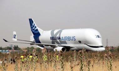Airbus amplia uso de combustível ecológico no Beluga, o cargueiro gigante da empresa