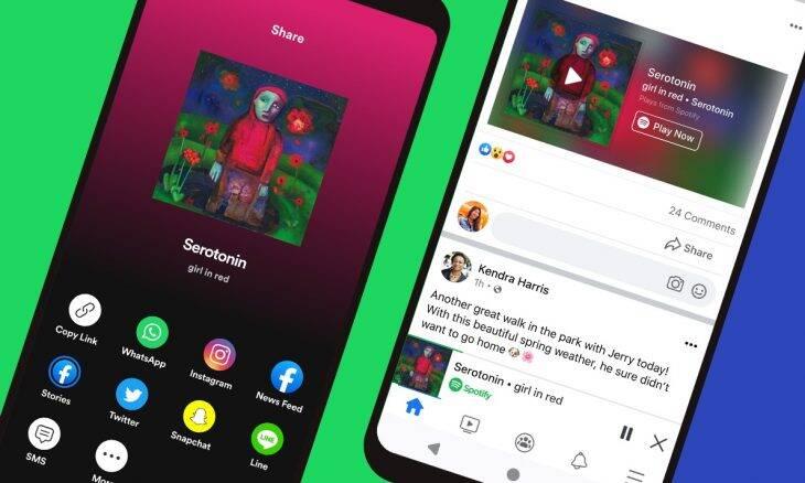 Facebook e Spotify se unem para reproduzir músicas na rede social
