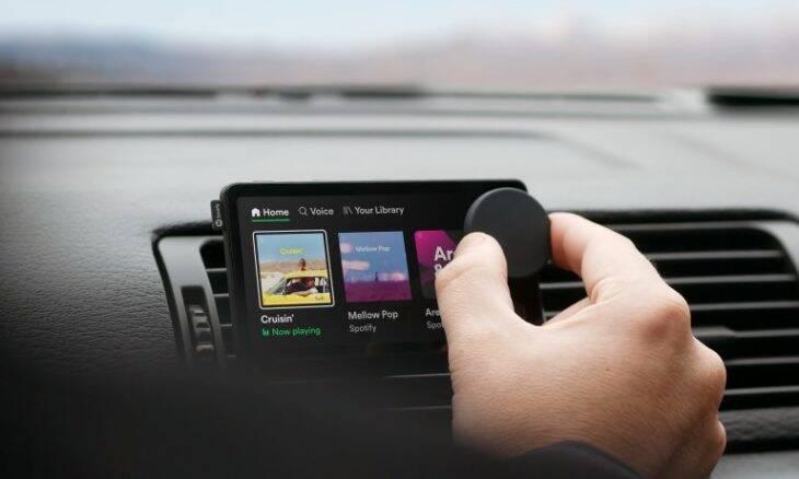 Spotity lança o Car Thing, player inteligente para uso automotivo