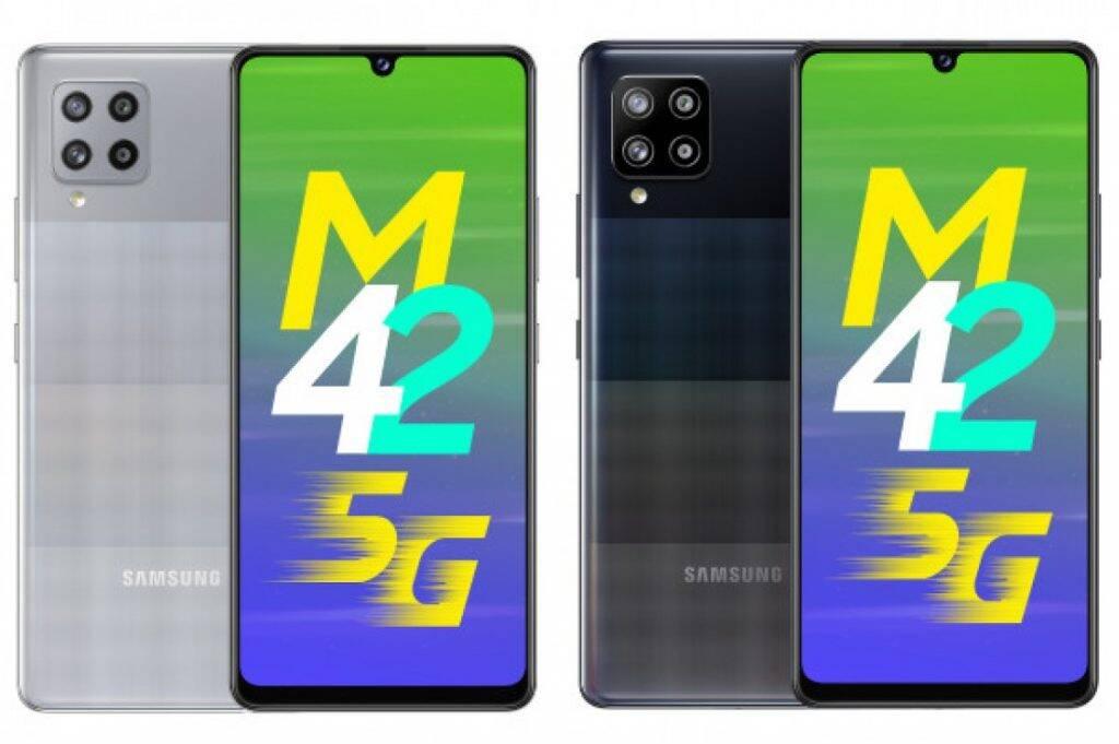 Samsung apresenta novo smartphone Galaxy M42 5G