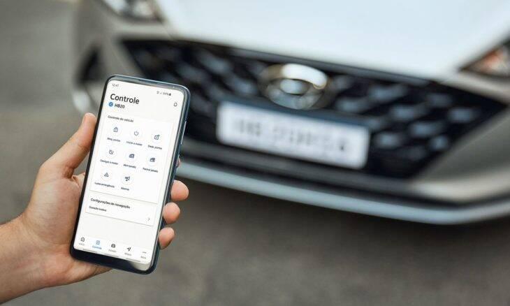 Hyundai lança serviço de conectividade Bluelink no Brasil