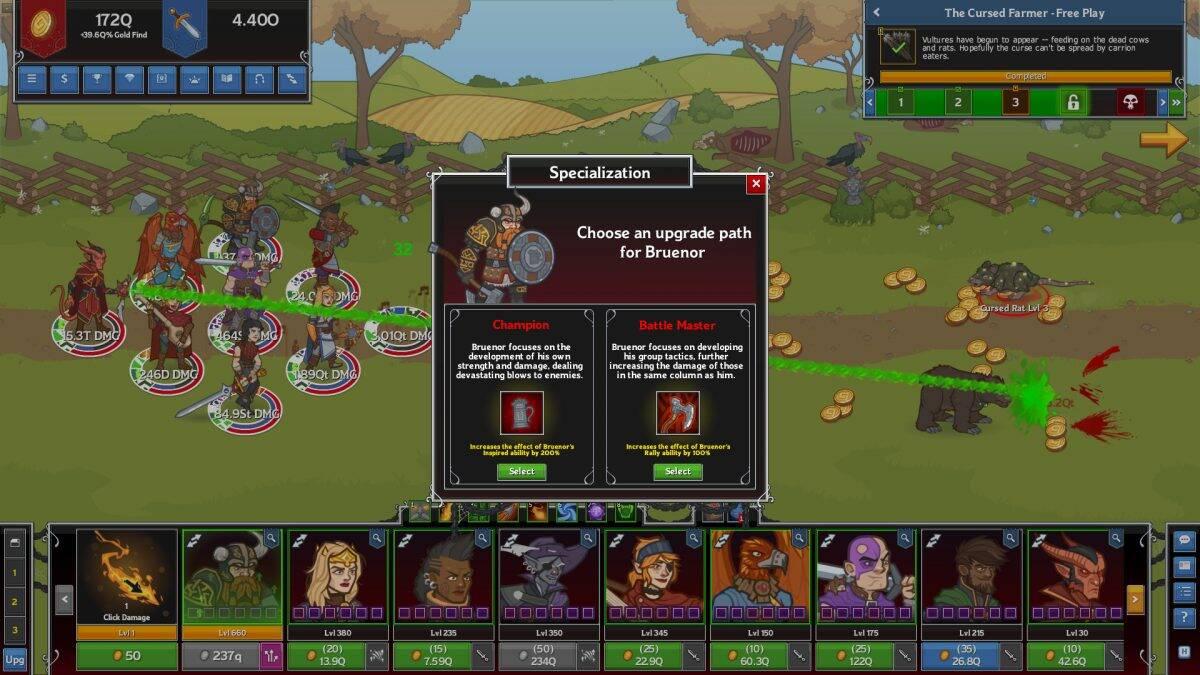 """""""Idle Champions of the Forgotten Realms"""" é o jogo grátis da Epic Games Store na semana"""