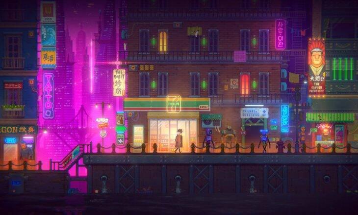 Tales of The Neon Sea é o jogo grátis da semana na Epic Games Store
