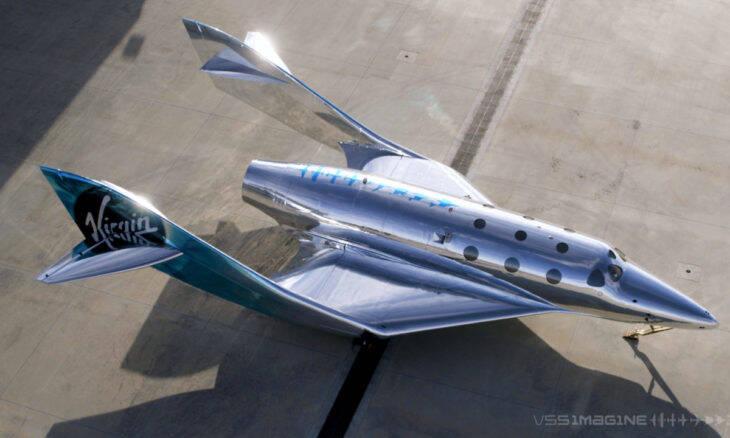 VSS Imagine é a primeira aeronave de nova geração da Virgin Galactic
