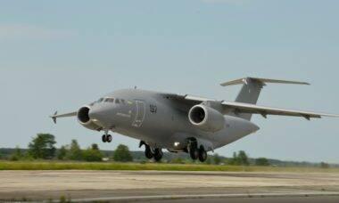 Ucrânia inicia produção em série de concorrente do Embraer KC-390 Millennium