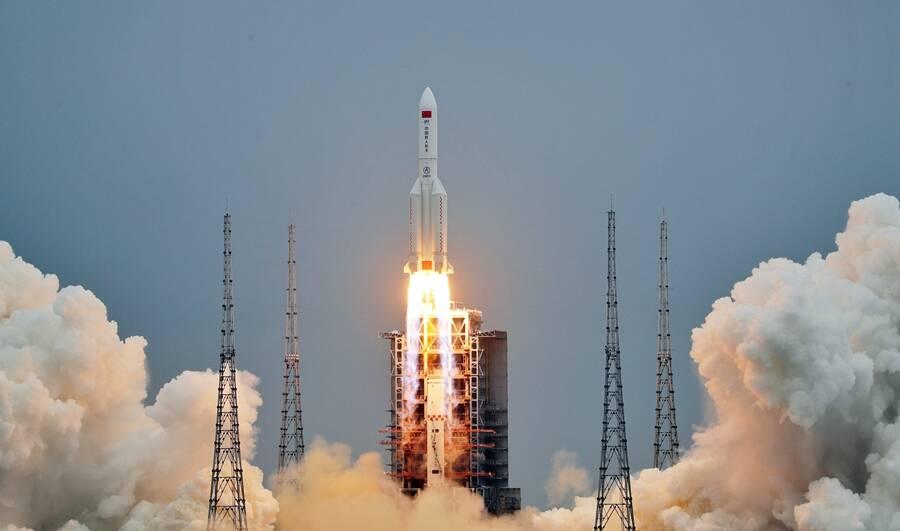 China lança 1º módulo da sua estação espacial