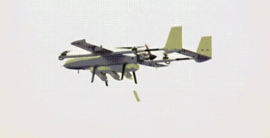 Empresa chinesa cria VANT que funciona como nave-mãe para drones