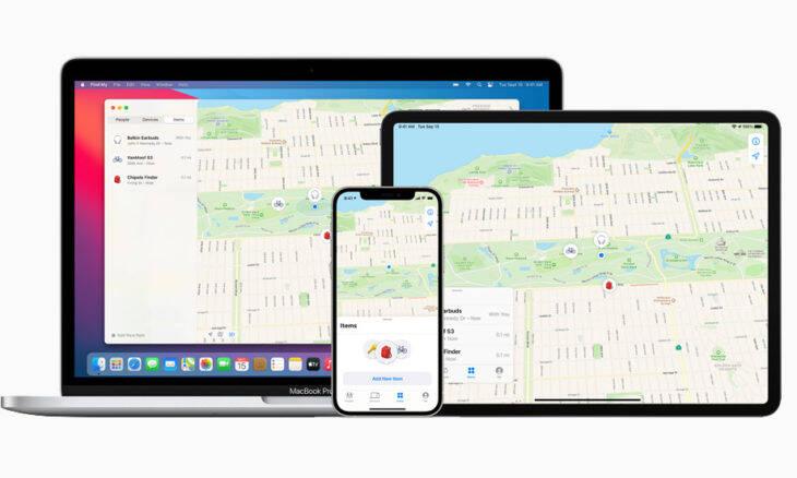 Find My da Apple passa a localizar eletrônicos de outras marcas e até bicicletas