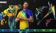 Neymar Jr. estreia skin no Fortnite nesta terça-feira (27)