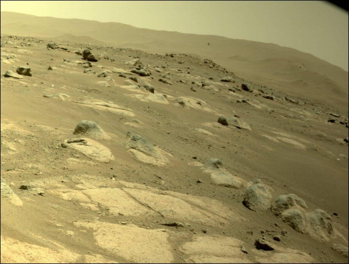 Nasa define nova missão para o helicóptero Ingenuity em Marte