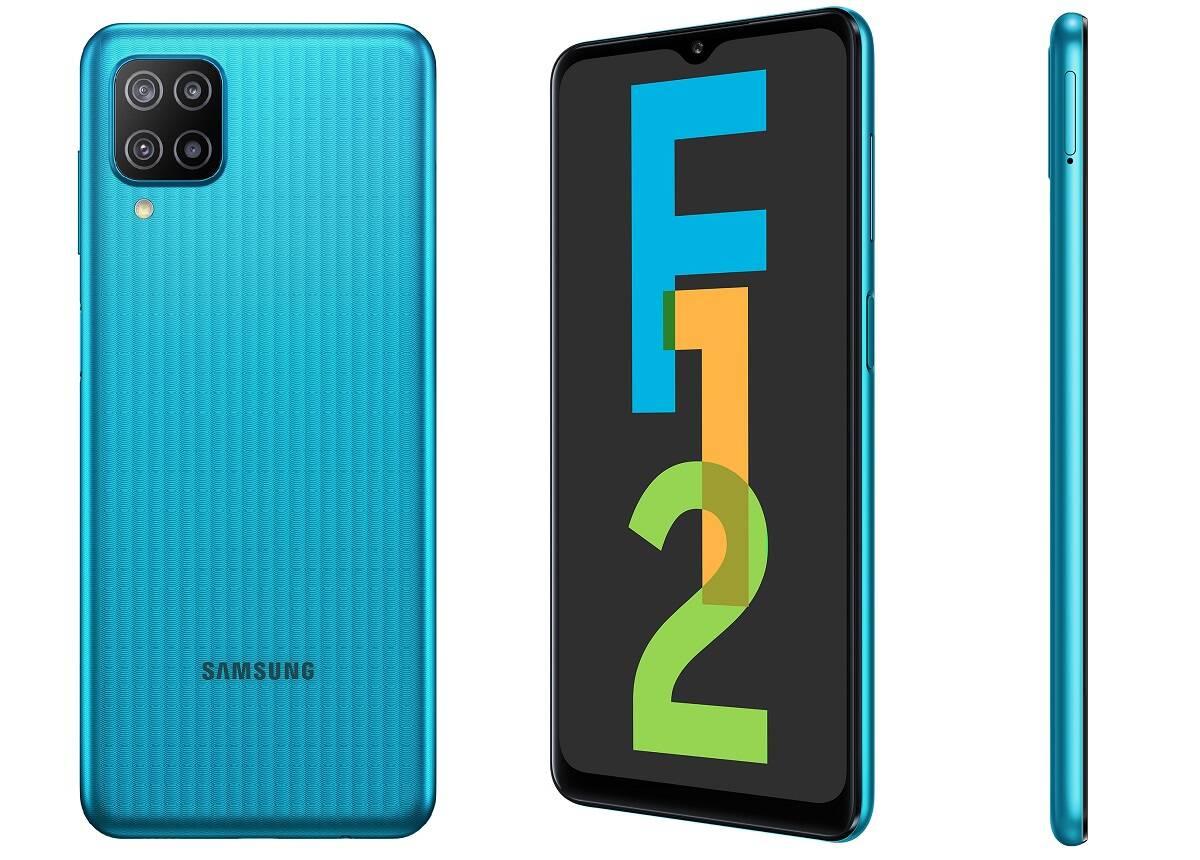 Samsung mostra novos Galaxy F12 e F02S na Índia