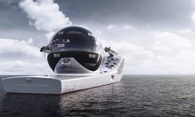 Navio nuclear maior que o Titanic quer virar laboratório de ponta para 160 pesquisadores
