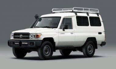 Covid-19: Toyota cria 4x4 adaptado para transporte de vacinas