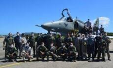 Marinha finaliza reconstrução de avião AF-1B Skyhawk acidentado em 2016