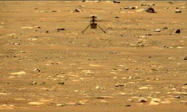 Ingenuity voa mais alto e por mais tempo em seu 2ª voo em Marte