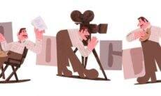 Google faz homenagem ao 109º aniversário de Amácio Mazzaropi. Foto: Divulgação