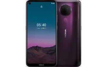 Nokia 5.4 estreia no Brasil por R$ 1.999