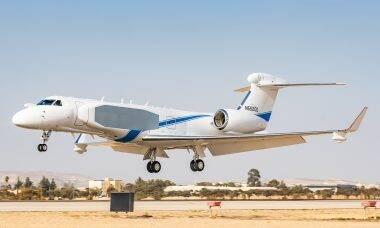 Israel vai transformar mais um jato executivo Gulfstream G550 em avião espião