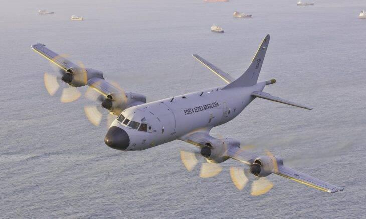 Empresa brasileira fornece novas asas para os P-3AM Orion da FAB