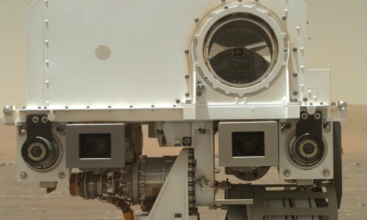 Nasa divulga selfie feita pelo robô Perseverance em Marte