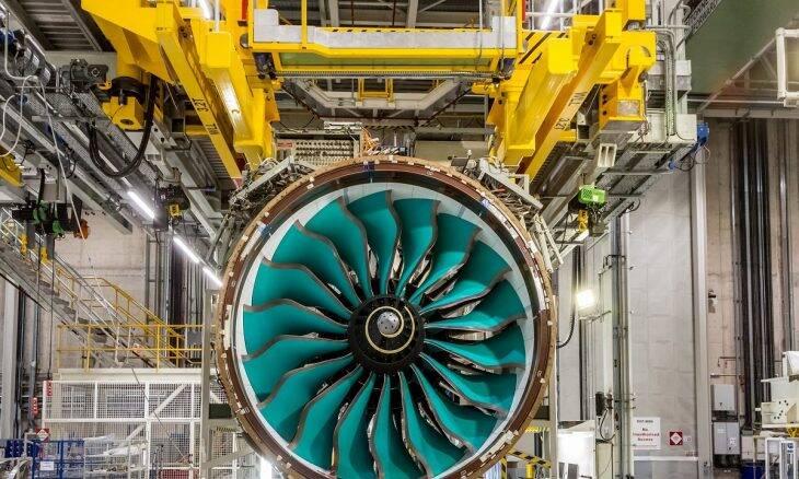 Rolls-Royce inicia produção do maior motor aeronáutico do mundo