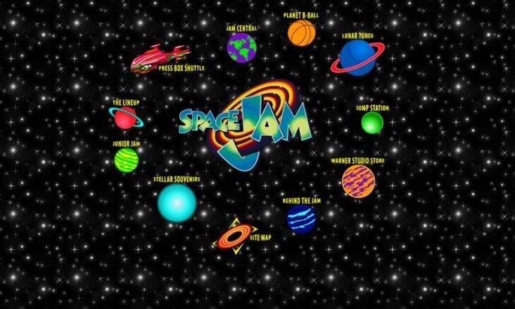 Site do filme Space Jam é atualizado pela 1ª vez desde 1996