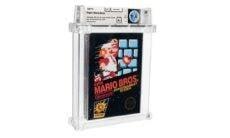 Jogo Super Mario Bros de 1986 bate recorde em leilão nos EUA