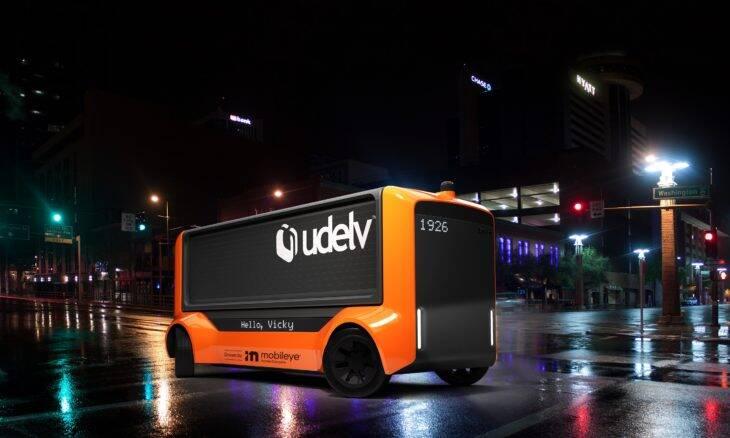 Mobileye fecha parceria com a Udelv para produzir veículos autônomos de carga