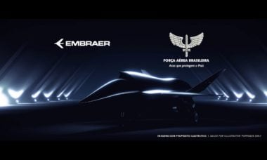 FAB e Embraer assinam acordo para desenvolvimento e produção de VANT
