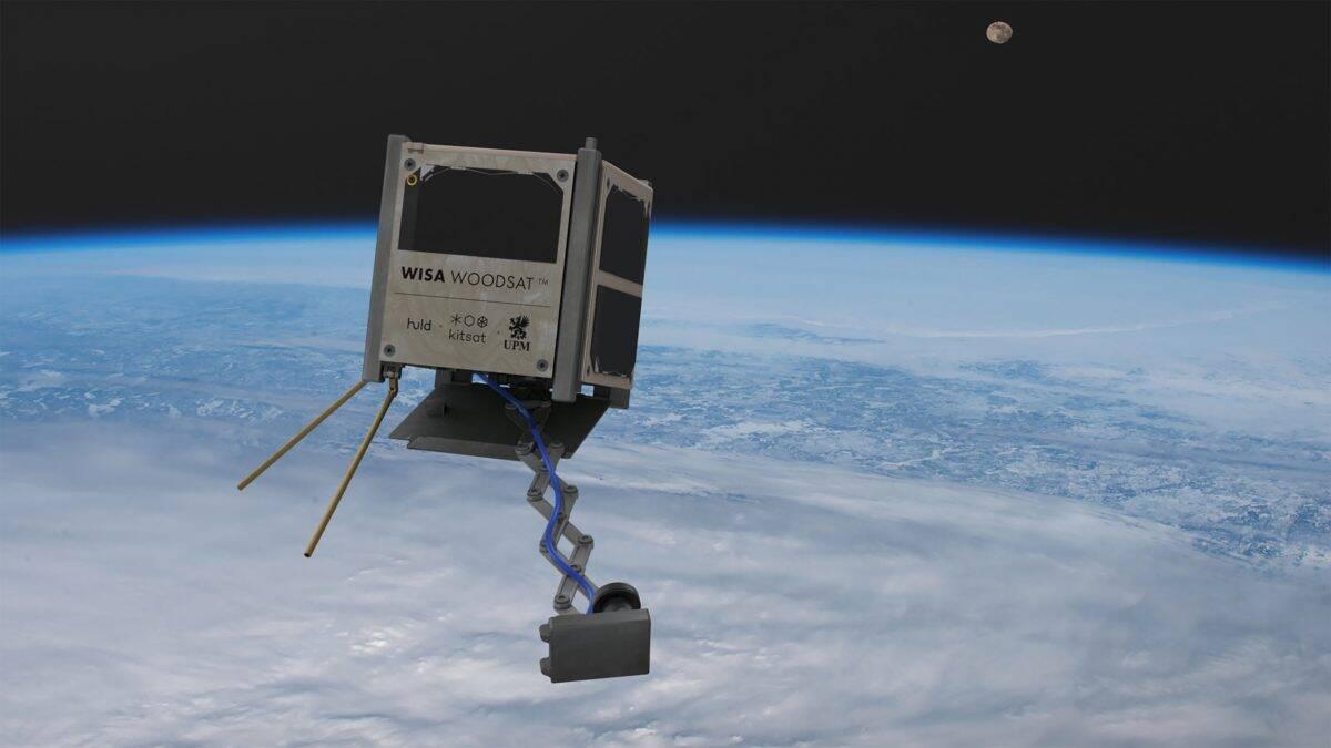 Primeiro satélite de madeira do mundo vai para o espaço ainda este ano